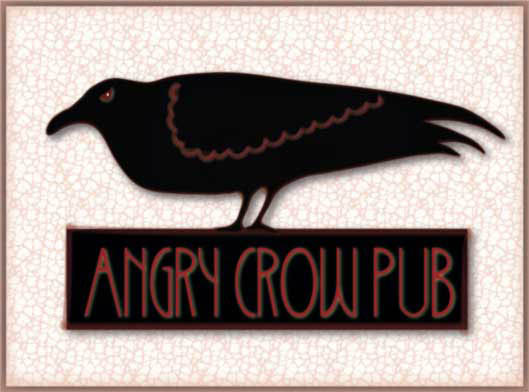 Angry Crow pub sign